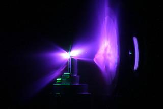 Trident laser