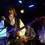 Mon, 17/08/2015 - 9:59am - Larry Campbell with Teresa Williams on vocals and Bill Payne on keys, for an audience of WFUV Marquee Members at City Winery, 8/17/15. Photo by Gian Vassaliko