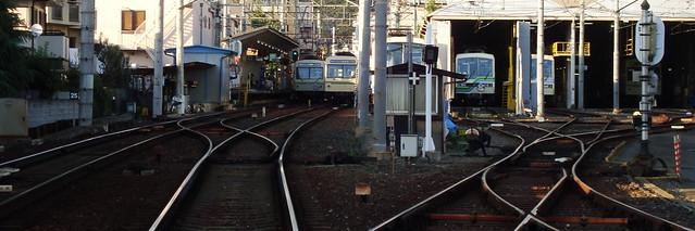 Photo:2015/09 一乗寺5号踏切から見える叡電車両 By *Setuka