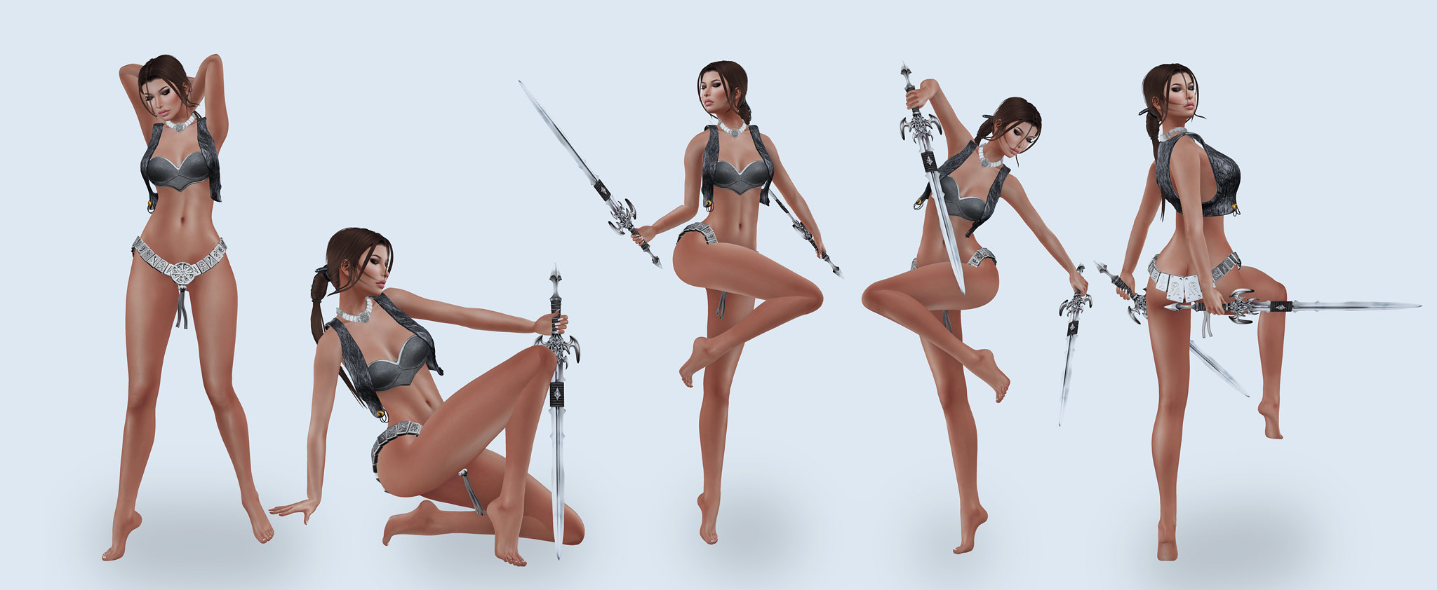 NRage Studio Poses! @ Illusion Point- Monthly Fantasy Shopping