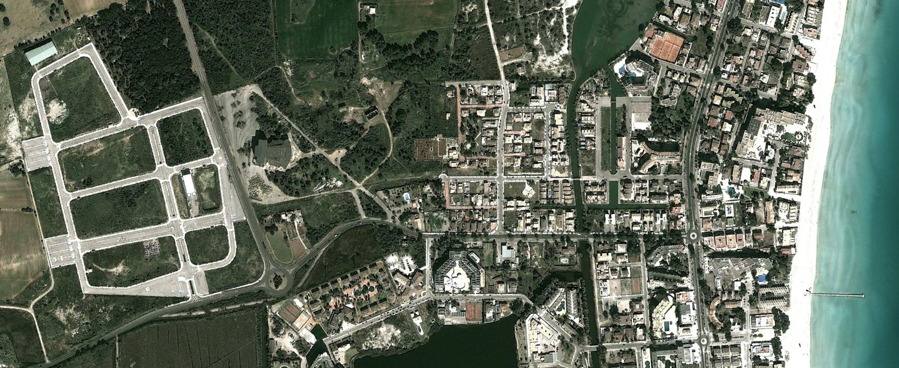 platja d'alcudia, mallorca, illes balears, un sitio malo para pasar una resaca, después, urbanismo, planeamiento, urbano, desastre, urbanístico, construcción, rotondas, carretera