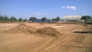 Rutigliano- Lavori al campo di Via Adelfia fase 1  - foto Sport Centre Rutigliano