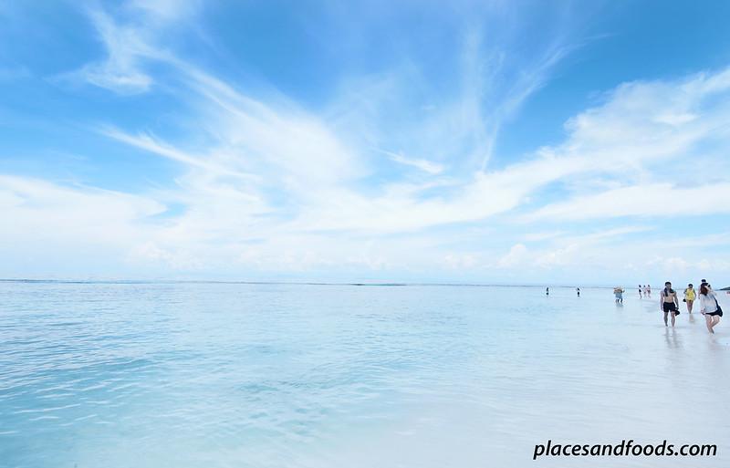 tachai island reflective beach