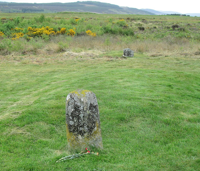 Culloden; Graves of Clan Cameron