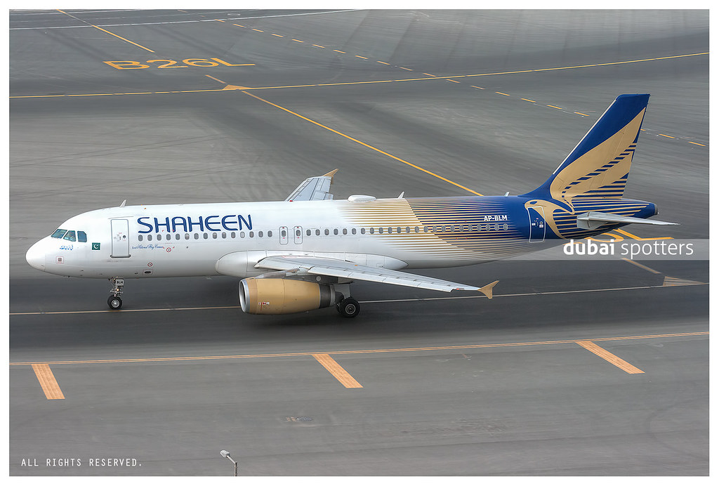 Shaheen Air International Airbus 320-232 AP-BLM
