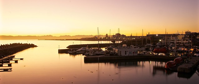 V&A Waterfront in the Sunset