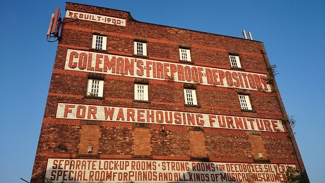 Coleman's Warehouse, Park Rd, Toxteth.