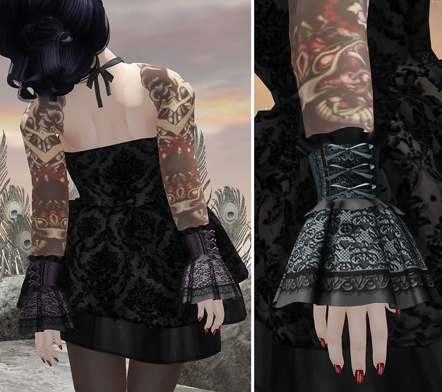 Lace Cuffs from Katat0nik
