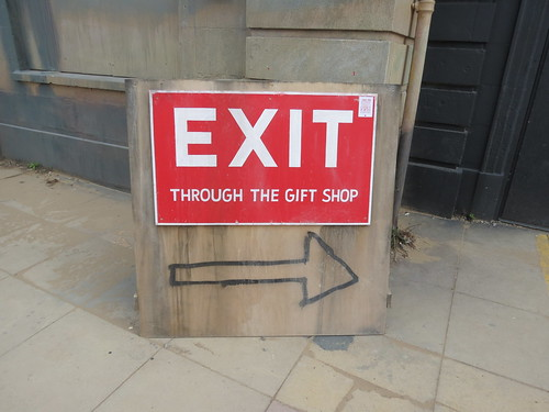 Exit through the gift shop @ Dismaland