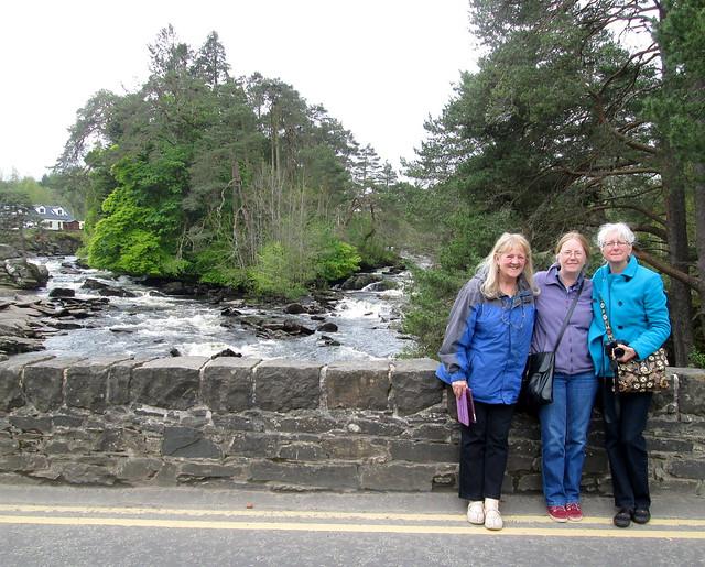 At Falls of Dochart