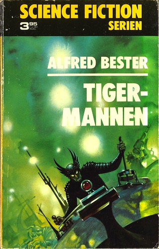 Alfred Bester, Tigermannen [The Stars My Destination] (1973 - Lindfors Förlag, Science Fiction Serien [3])