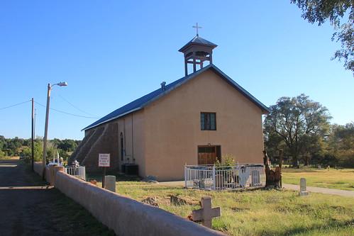 Our Lady of Sorrows Catholic Church, Manzano, NM