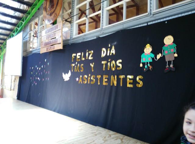 Celebración Día del Asitente de la educación 2015