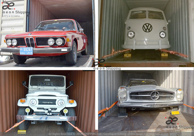 Classic Car Shipping from Dubai