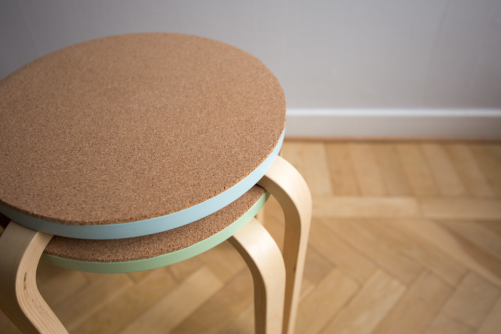 DIY - IKEA hack cork stool