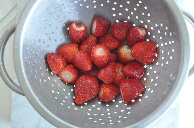 Strawberries with Marsala