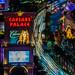 Las Vegas       Caesars Palace Light Trails