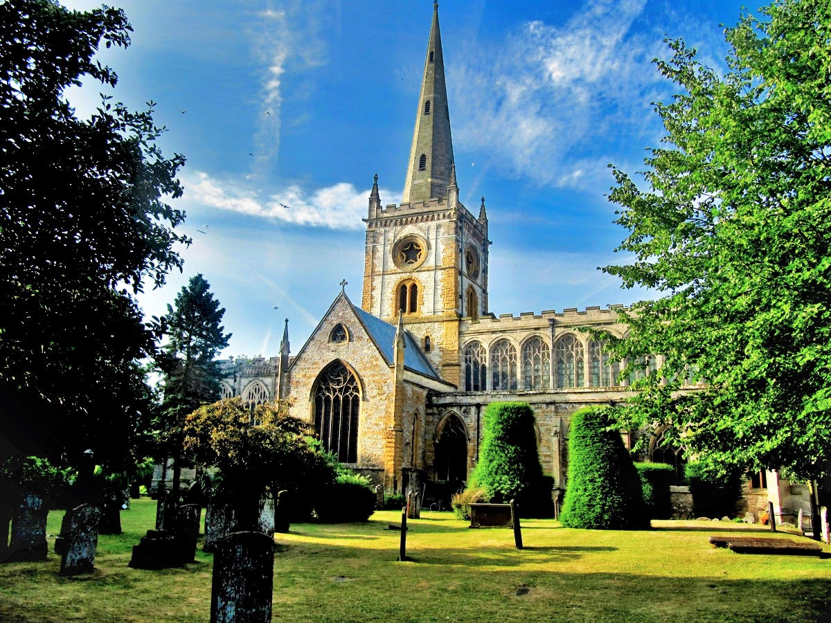 Church of the Holy Trinity, Stratford-upon-Avon. Credit Palickap