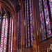 Sainte Chapelle Stained Glass by Laura K Bellamy