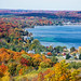 Lake Charlevoix Fall Colors by frank.wulfers