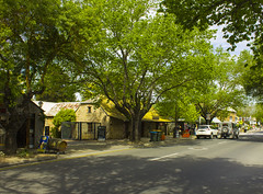 Down the Main Street in Hahndorf
