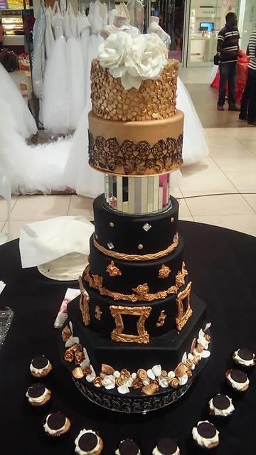 Wedding Cake by Kassy Missy Ndakasha of Kassy's Classic Cakes
