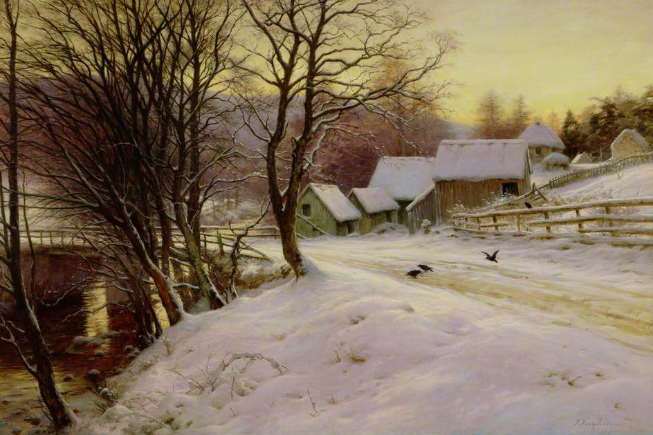 A Winter's Morning by Joseph Farquharson