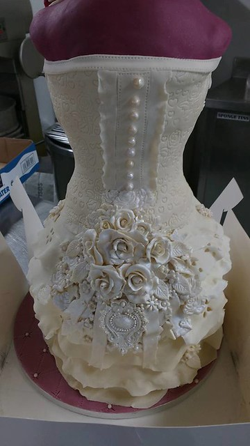 Wedding Cake by Cakes Bakes & Sweet Treats