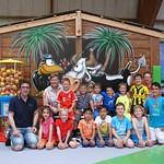 Junioren G im Funpark 07.06.2016