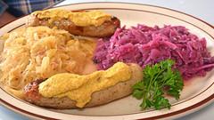 Chuck's Lunch - the Bratwurst Dinner