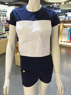 班服指南-Gimu團體服-基本網版印在班服上的照片-女MODEL-正面