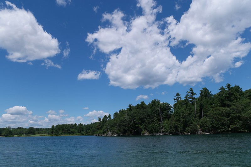Maine lake.