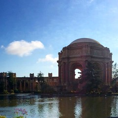 Palace of Fine Arts #sanfrancisco