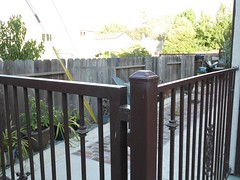 outdoor structure(0.0), deck(0.0), balcony(0.0), home fencing(1.0), baluster(1.0), picket fence(1.0), handrail(1.0), property(1.0), gate(1.0), real estate(1.0),