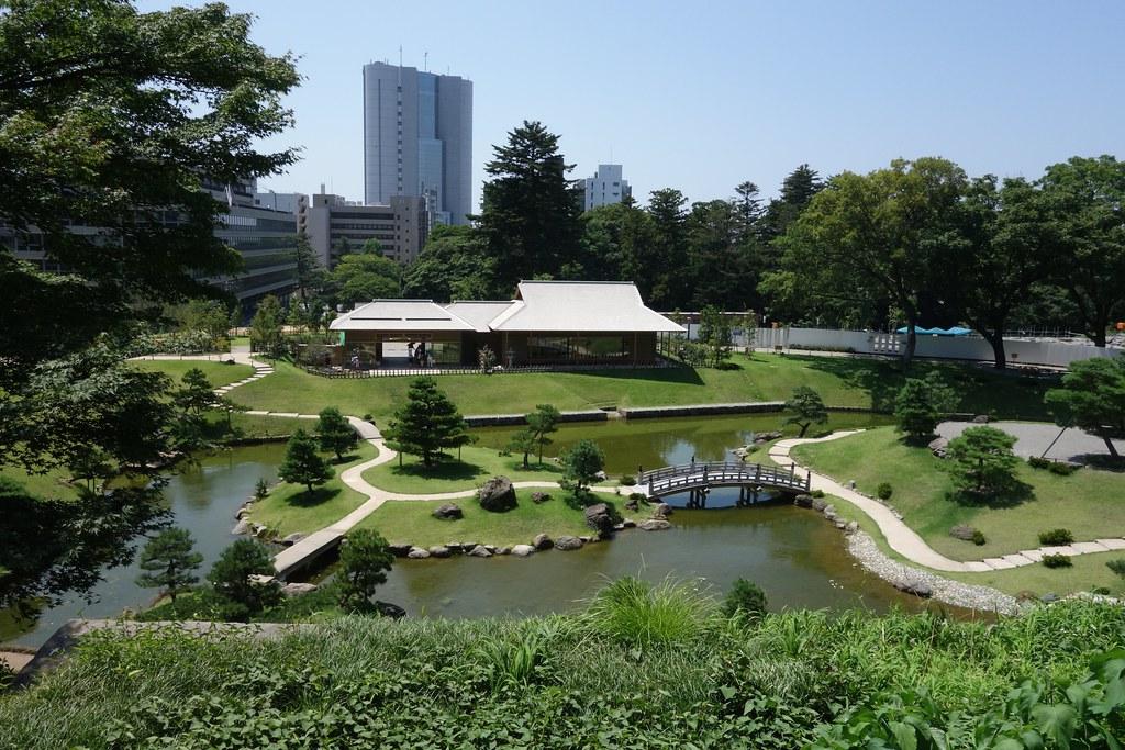 Gyokusen'in garden