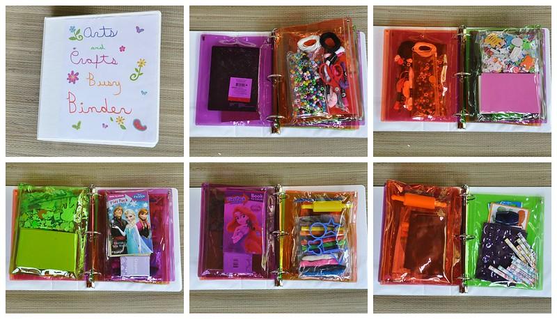 Arts and Crafts Busy Binder Storage