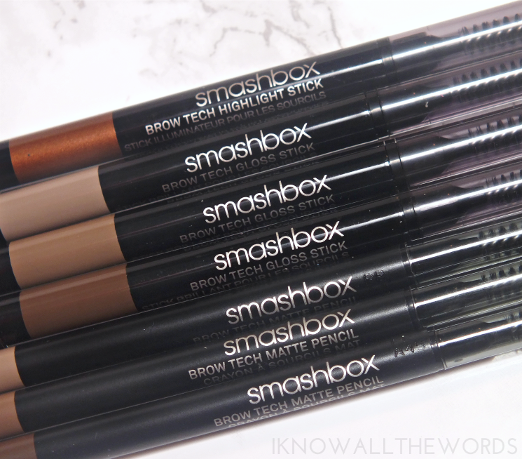 smashbox brow tech collection (2)