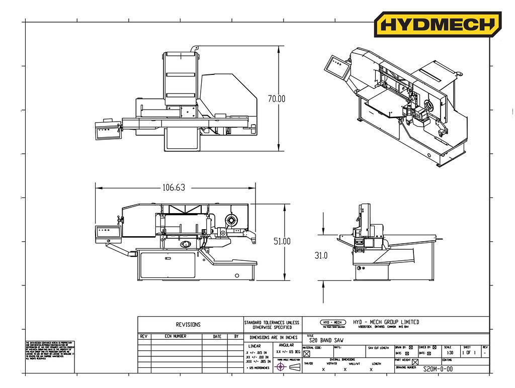 S-20 Floorplan Drawing
