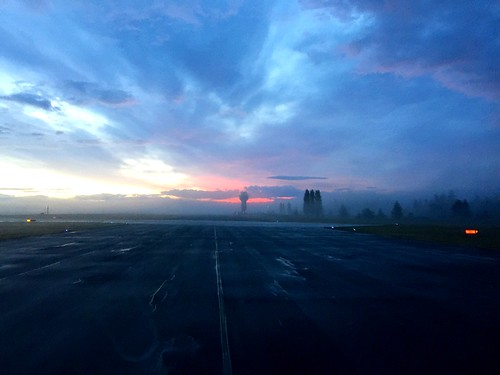 morning trees fog sunrise airport bc britishcolumbia vancouverisland controltower comox cfbcomox