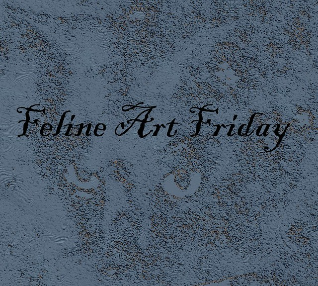 Feline Art Friday Link