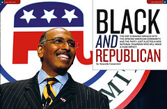 Opening spread for Black GOP