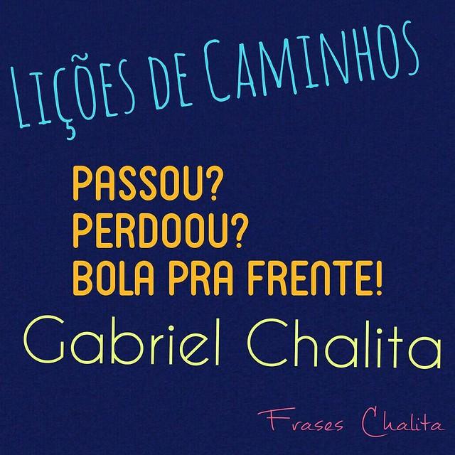 Eu assisto #Caminhos com @Gabriel_Chalita na @REDEVIDA toda quinta-feira, 23h. #gabrielchalita #redevida