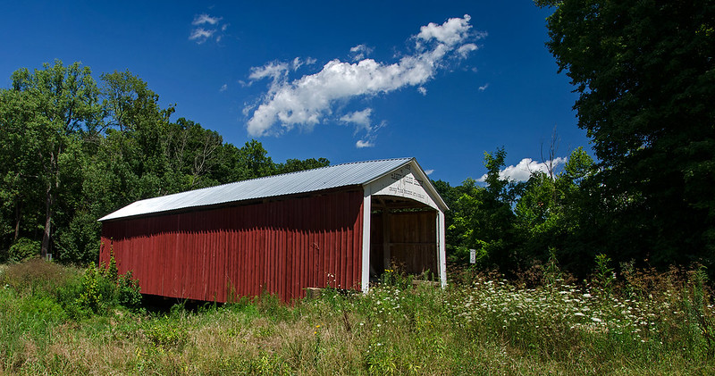Harry Evans Covered Bridge