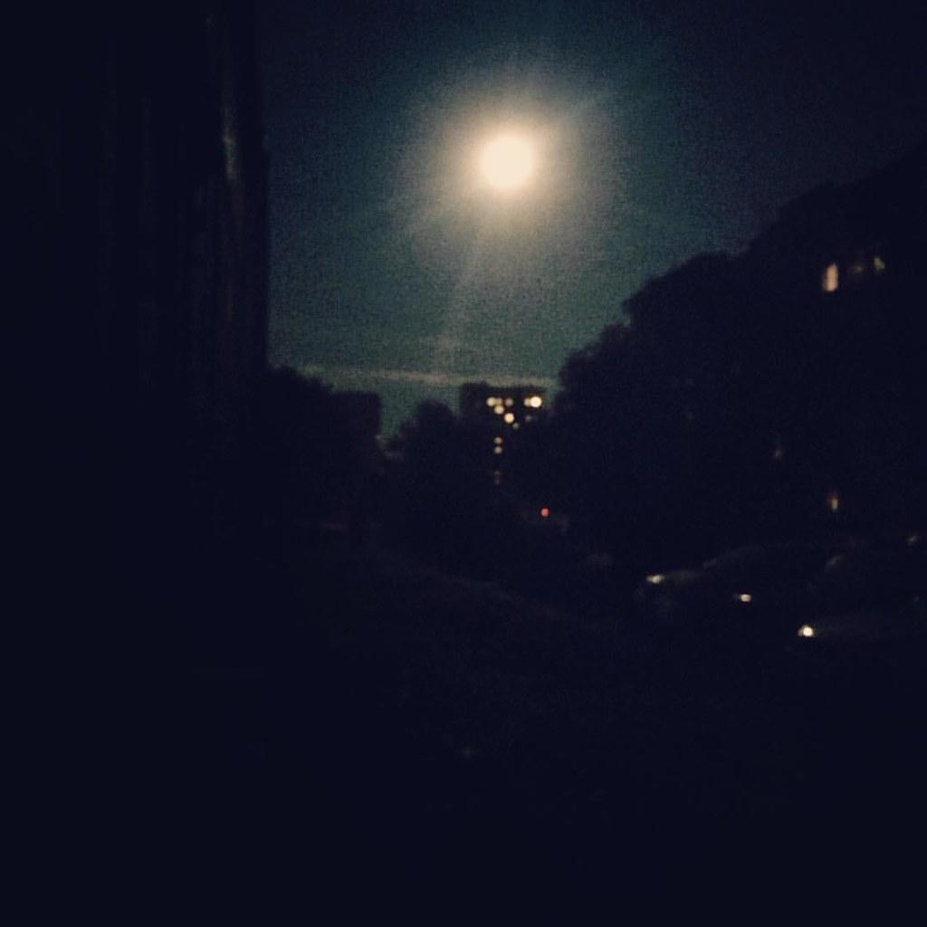 #суперлуние в #новосибирске #moon #supermoon