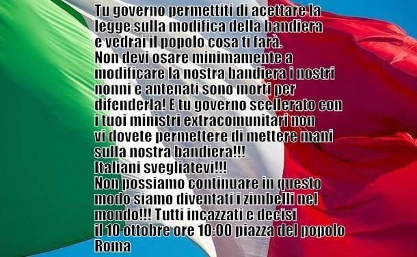 Casamassima- Una nuova marcia su Roma-delirante manifesto 1