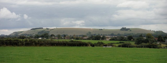 White Sheet Hill from Horse Hill, above Ludwell