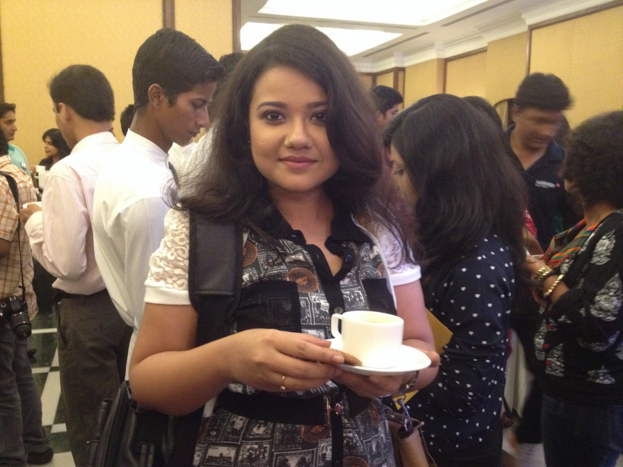 Nivedita Bachar - Berger Express Painting IndiBlogger Meet 2015 at The Oberoi Grand, Kolkata