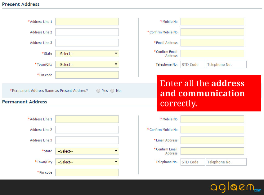 JIPMER PG Application Form