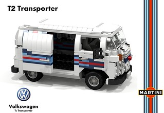 VW T2 Transporter - Martini Racing