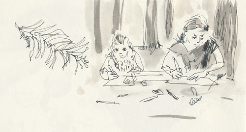 Sketchbook #91: Treasure of drawing treasures together
